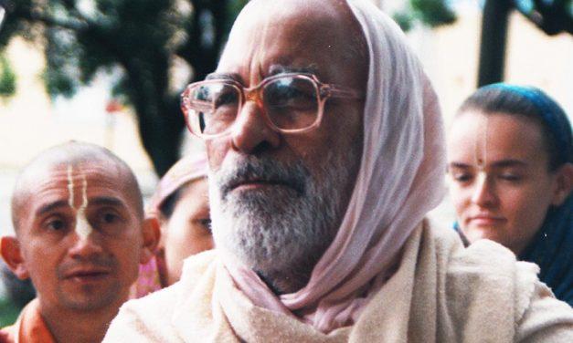 Šrilos Gurudevo prisiminimai apie Šrilą Narajaną Gosvamį Maharadžą